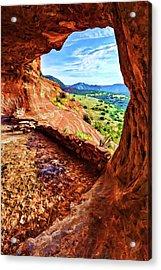 Sacred Ground - Shaman's Cave 2 Acrylic Print