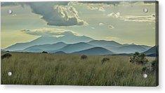 Sacred Mountain Acrylic Print