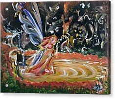 Sacred Pool 2 Acrylic Print