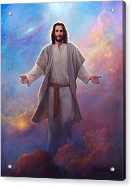 Acrylic Print featuring the painting Sacred Space by Greg Olsen