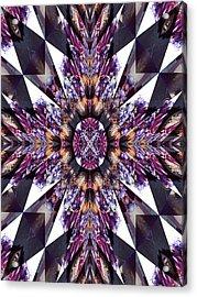 Sacred Star Acrylic Print by Ricky Kendall