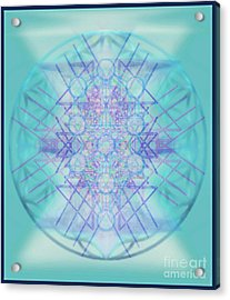 Sacred Symbols Out Of The Void A2b Acrylic Print by Christopher Pringer