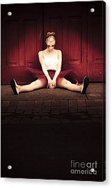 Sad Dancer Acrylic Print by Jorgo Photography - Wall Art Gallery