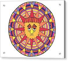 Sad Sunny Acrylic Print
