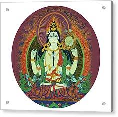 Sada Shiva  Acrylic Print