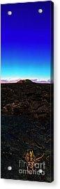 Saddle Road Humuula Lava Field Big Island Hawaii  Acrylic Print