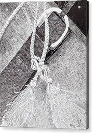 Saddle Strap Acrylic Print