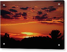 Acrylic Print featuring the photograph Sadie's Sunset by Bruce Patrick Smith