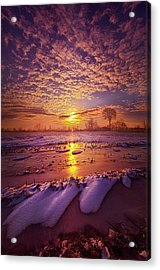 Acrylic Print featuring the photograph Safely Secluded In A Far Away Land by Phil Koch