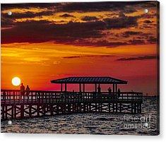 Safety Harbor Sunrise Acrylic Print