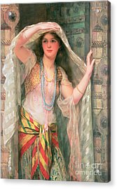 Safie Acrylic Print by William Clark Wontner