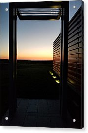Acrylic Print featuring the photograph Sag Harbor Sunset 2 by Rob Hans