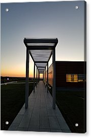 Acrylic Print featuring the photograph Sag Harbor Sunset by Rob Hans