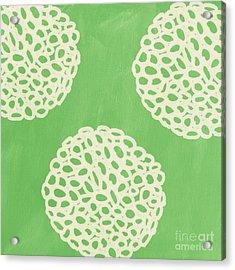Sage Garden Bloom Acrylic Print by Linda Woods