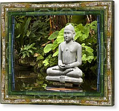 Sage Of Peace Acrylic Print by Bell And Todd
