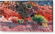 Sagebrush Acrylic Print by Donald Maier