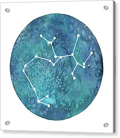 Sagittarius  Acrylic Print by Stephie Jones