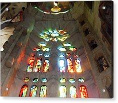 Sagrada Familia Acrylic Print by Patrick Rabbat