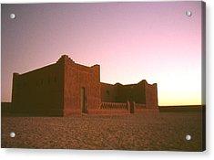 Sahara House Acrylic Print by David Halperin