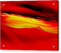 Sahara Sunrise Acrylic Print