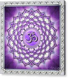 Sahasrara Chakra - Artwork IIi Acrylic Print