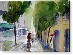 Saigon 1967 Tu Do Street Acrylic Print by Tom Simmons