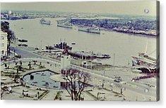 Saigon River, Vietnam 1968 Acrylic Print