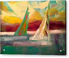Sail Away 1 Acrylic Print