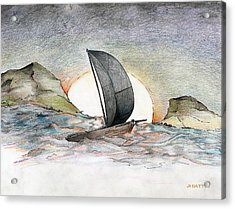 Sail Away Acrylic Print