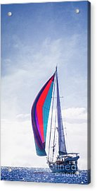 Acrylic Print featuring the photograph Sail Away by Scott Kemper