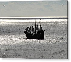 Sail Away Acrylic Print by Tim Mattox