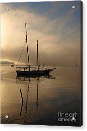 Sail Boat Acrylic Print by Trena Mara