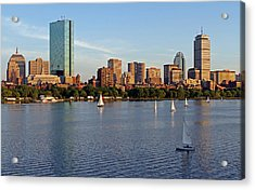 Sail Boston Acrylic Print by Juergen Roth