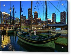 Acrylic Print featuring the photograph Sail Boston Tall Ship Essex by Juergen Roth