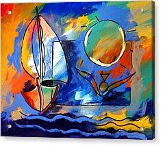 Sailboat 1 Acrylic Print