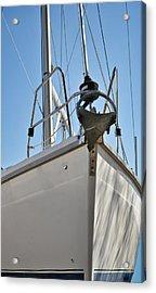 Sailboat Bow 3 Acrylic Print