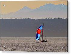 Sailboat Acrylic Print
