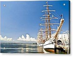 Sailboat In Rio Acrylic Print by Daniel Wander