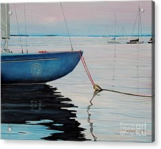 Sailboat Tied Acrylic Print
