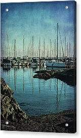 Marina - Digitally Textured Acrylic Print