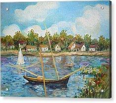 Sailing 1 Acrylic Print