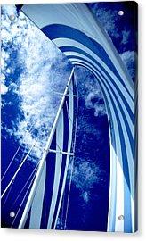 Sailing Along Acrylic Print