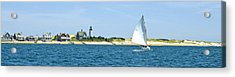 Sailing Around Barnstable Harbor Acrylic Print