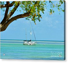 Sailing Away To Key Largo Acrylic Print