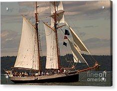 Sailing Away Acrylic Print by Robert Torkomian
