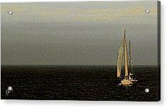 Sailing Acrylic Print by Ben and Raisa Gertsberg