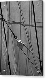 Sailing Block Acrylic Print