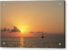 Crusing The Bahamas Acrylic Print