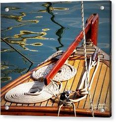 Sailing Dories 4 Acrylic Print