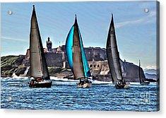 Sailing El Morro  Acrylic Print by Carey Chen